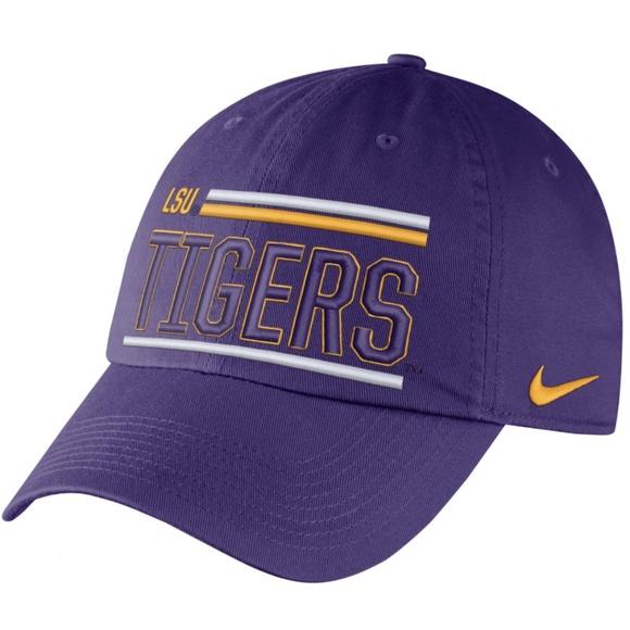 Nike Mens LSU Tigers Heritage 86 Adjustable Hat 6b5c79ea71e